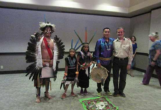 Familia Hopi con Purvesh